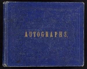 Autograph Book
