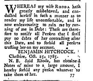 Bad Rhoda Hitchcock